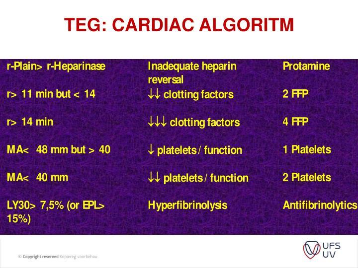 TEG: Cardiac