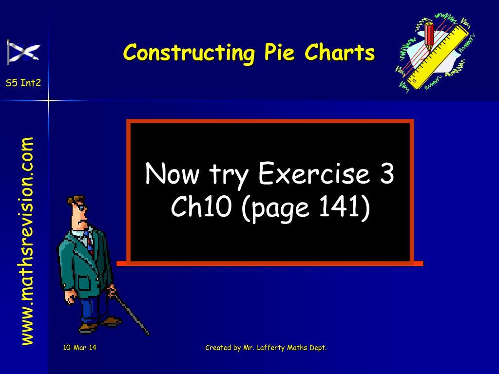 Constructing Pie Charts