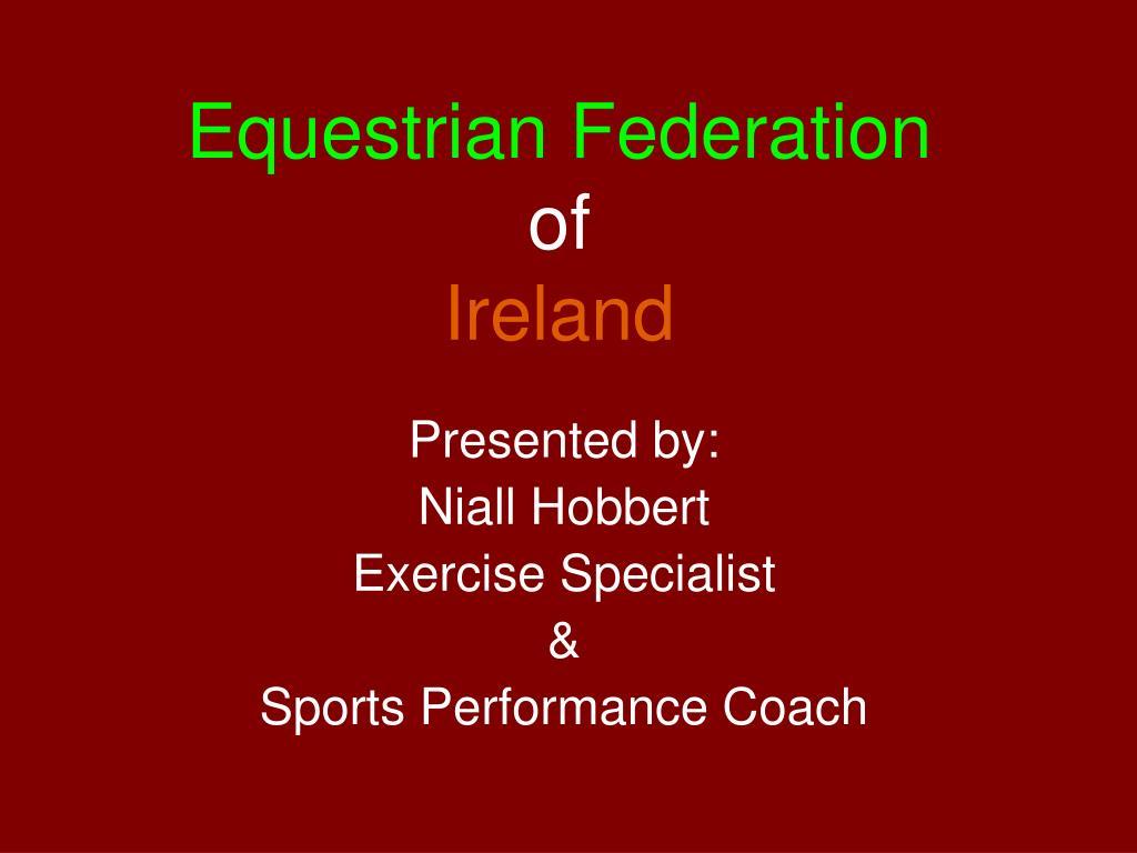 Equestrian Federation