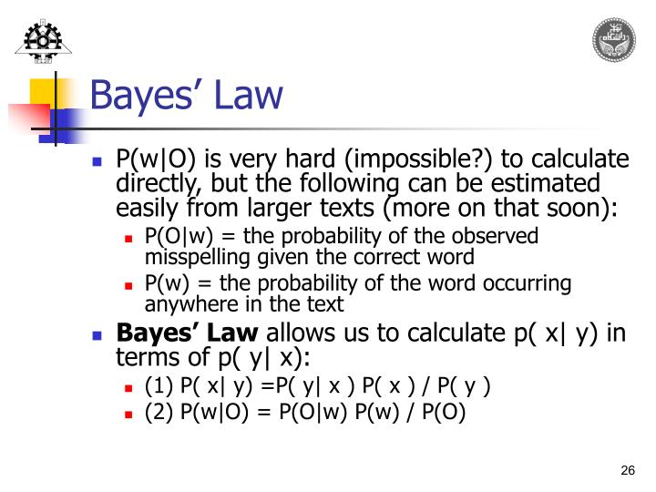 Bayes' Law