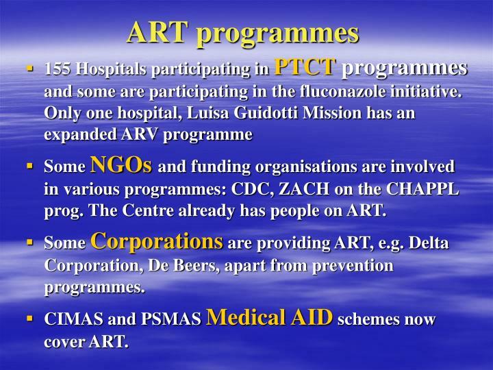 ART programmes
