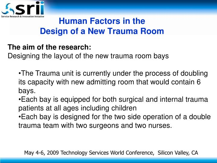 Human Factors in the