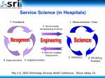 service science in hospitals