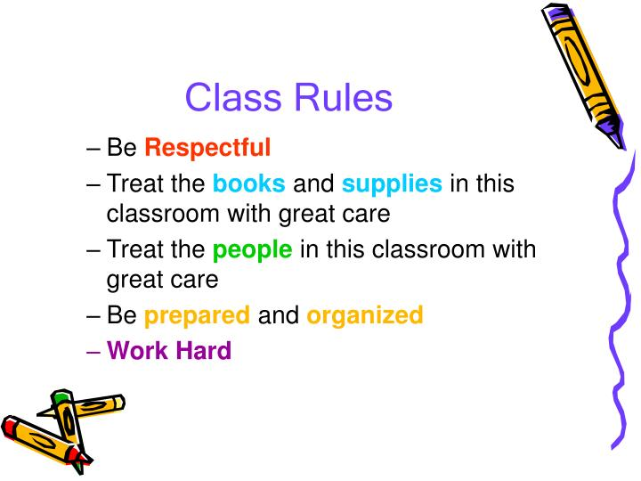 Class Rules