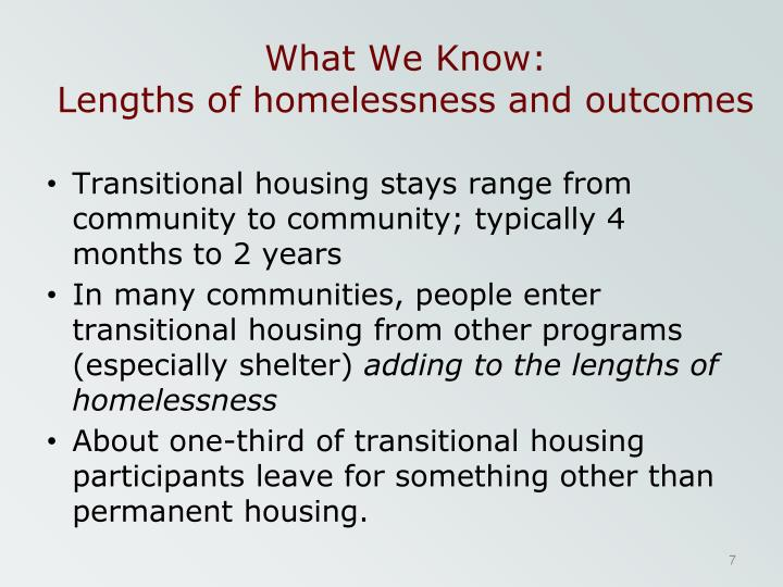 Welcome to the Homelessness Data Exchange website