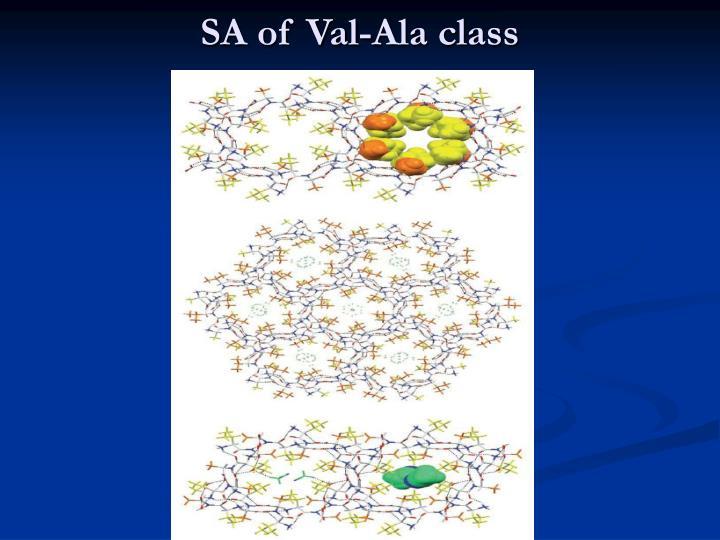 SA of Val-Ala class