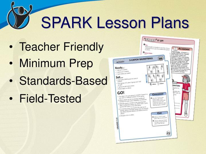 SPARK Lesson Plans