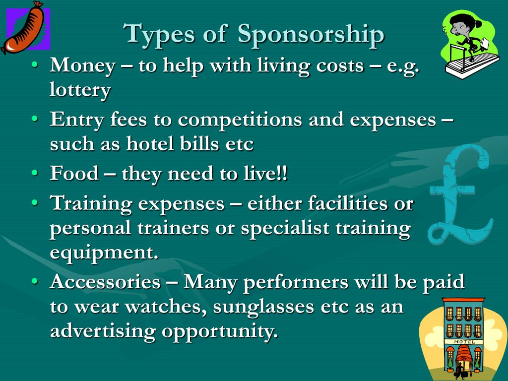Types of Sponsorship