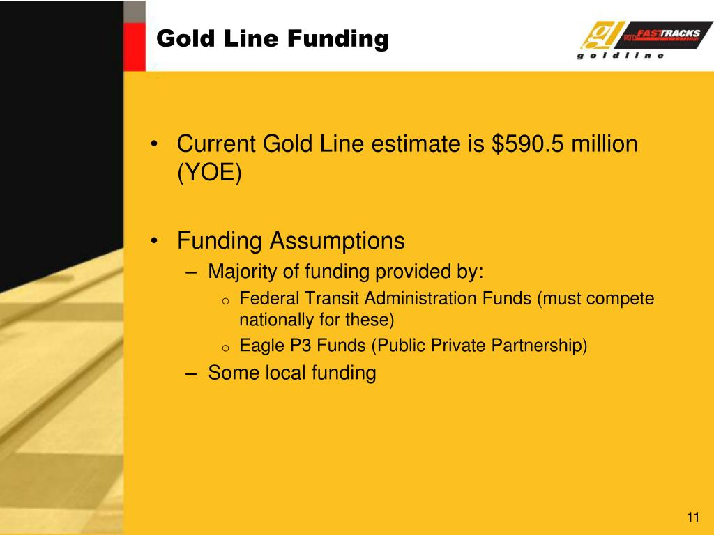 Gold Line Funding