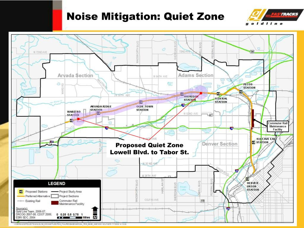 Noise Mitigation: Quiet Zone