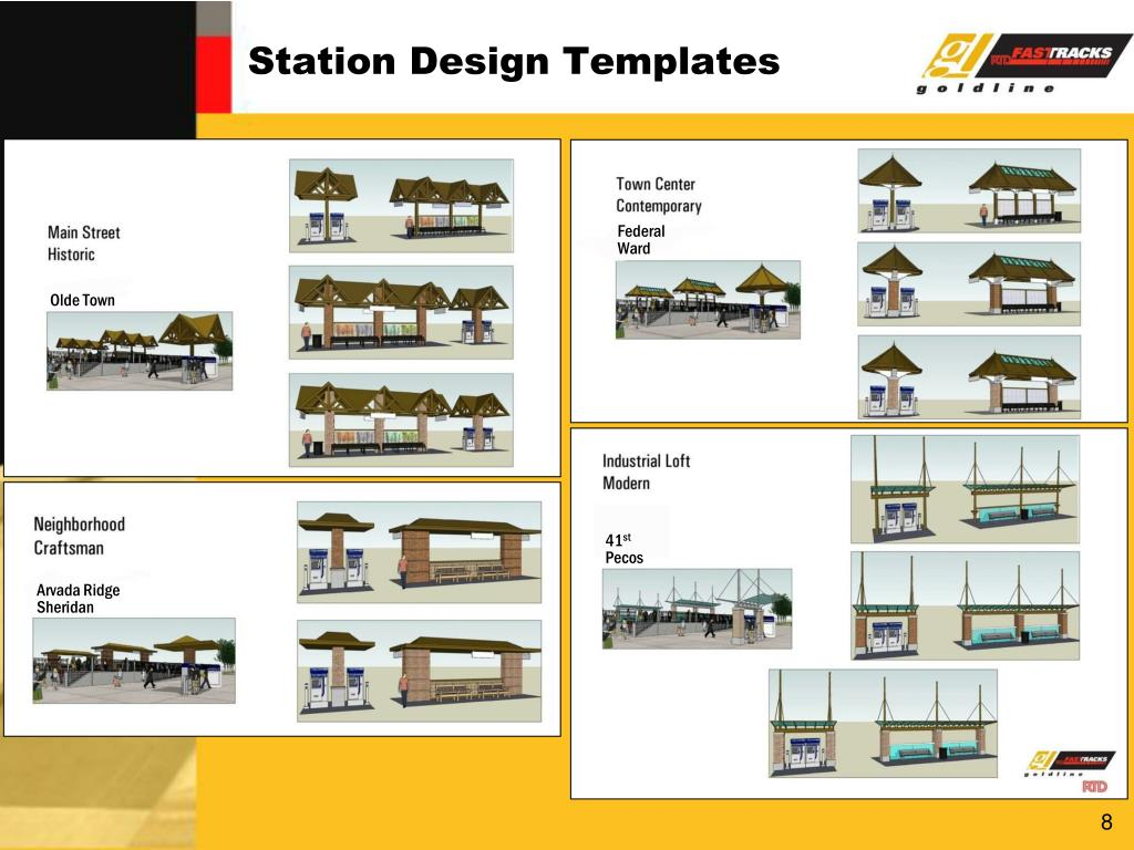 Station Design Templates