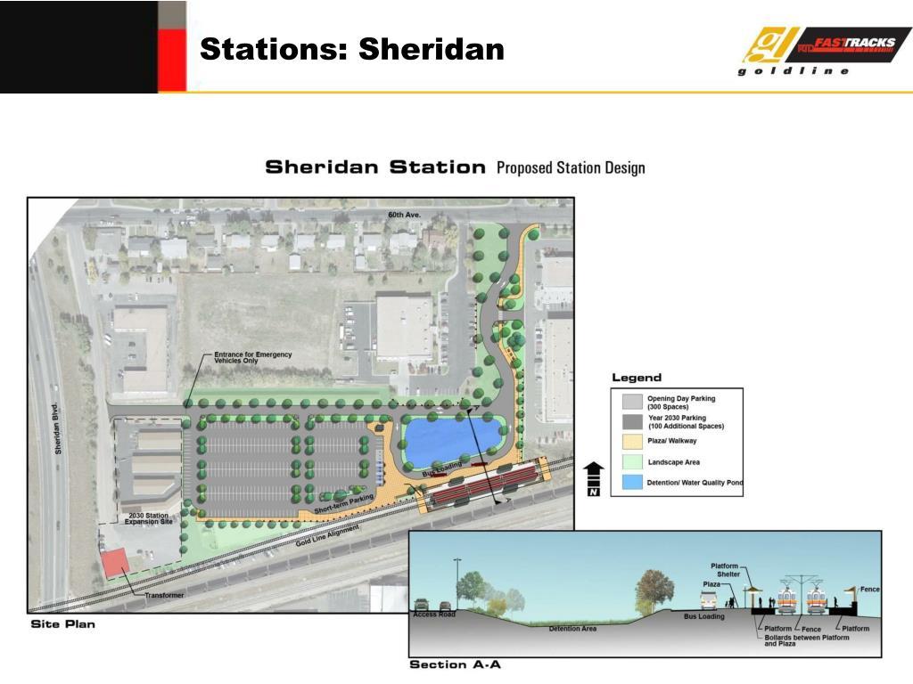 Stations: Sheridan