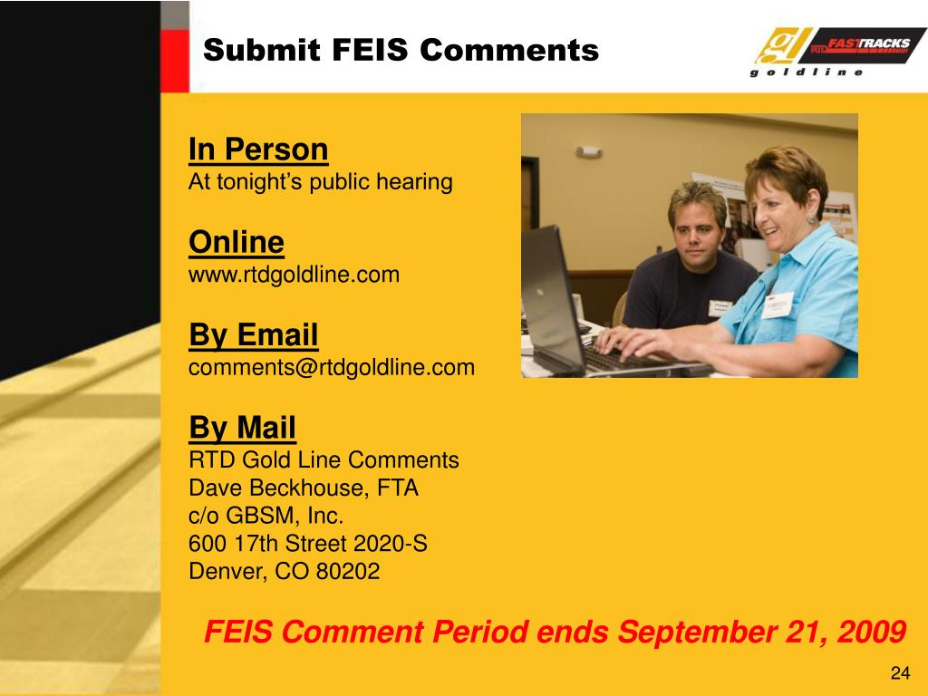 Submit FEIS Comments