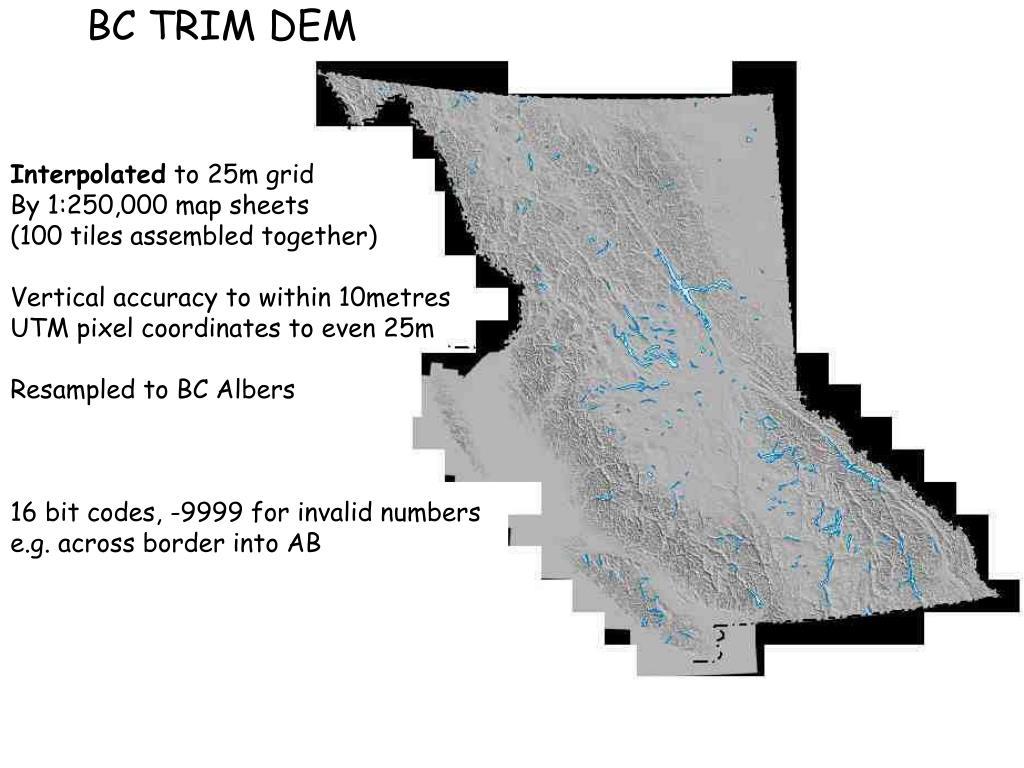 BC TRIM DEM