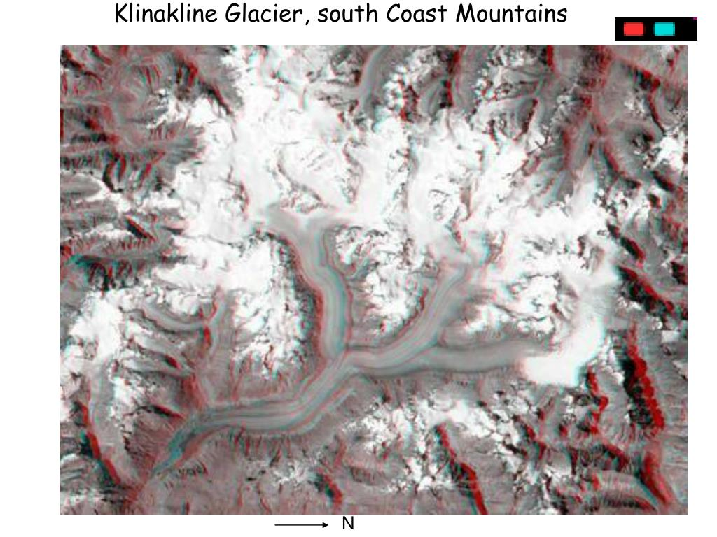 Klinakline Glacier, south Coast Mountains