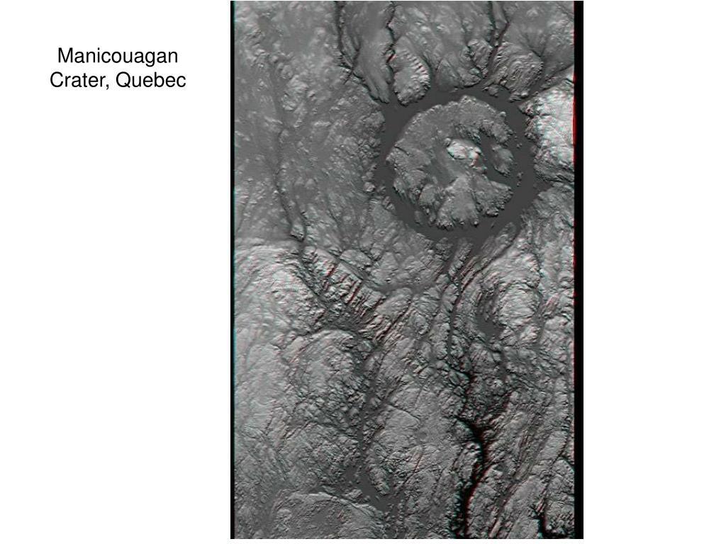 Manicouagan Crater, Quebec