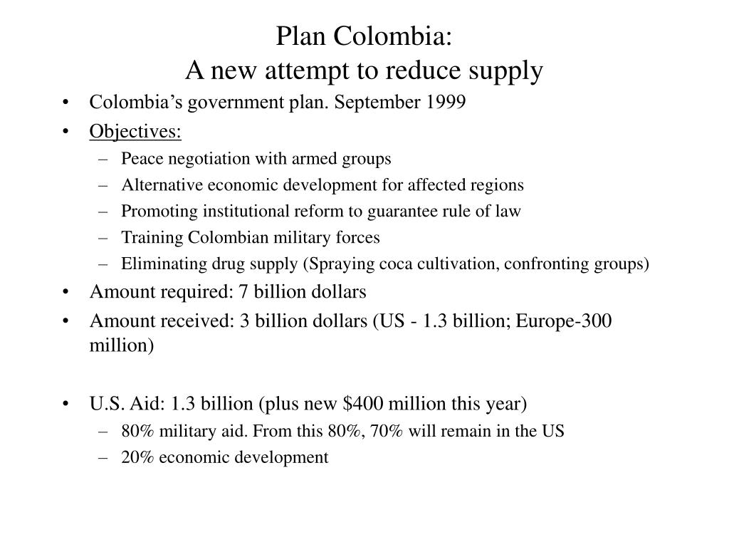 Plan Colombia: