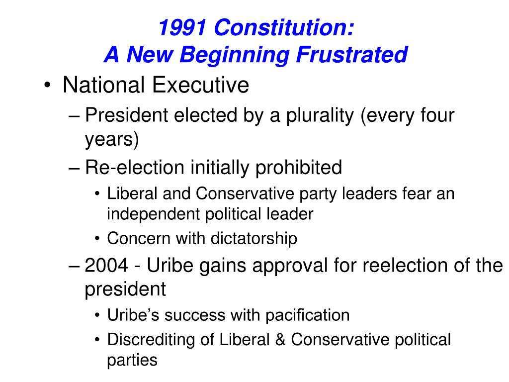 1991 Constitution: