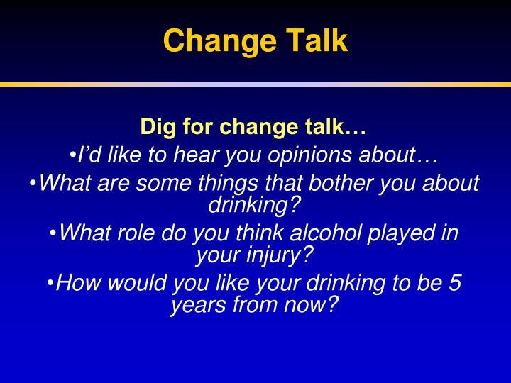 Change Talk