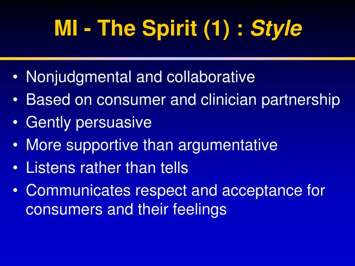 MI - The Spirit (1) :