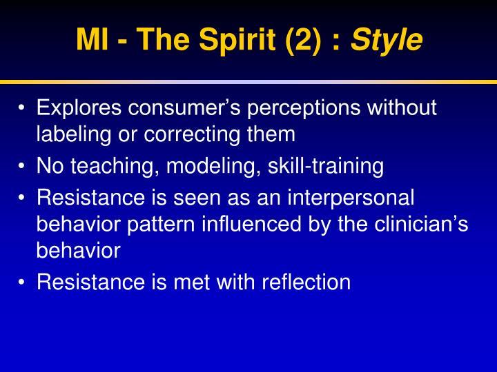 MI - The Spirit (2) :
