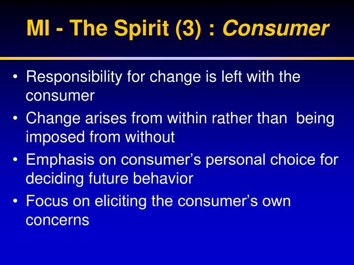 MI - The Spirit (3) :