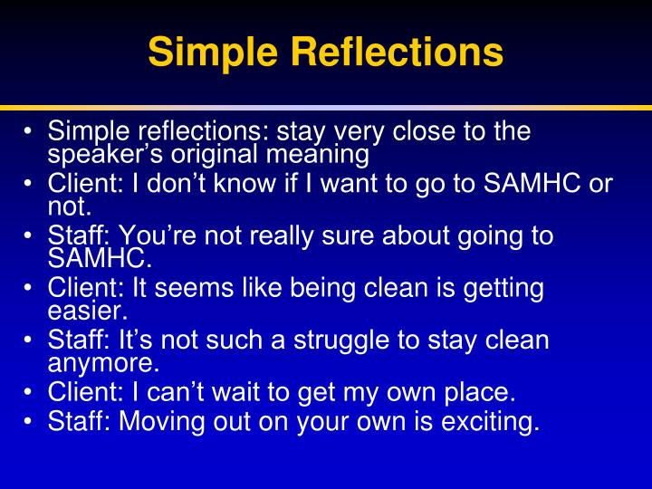 Simple Reflections