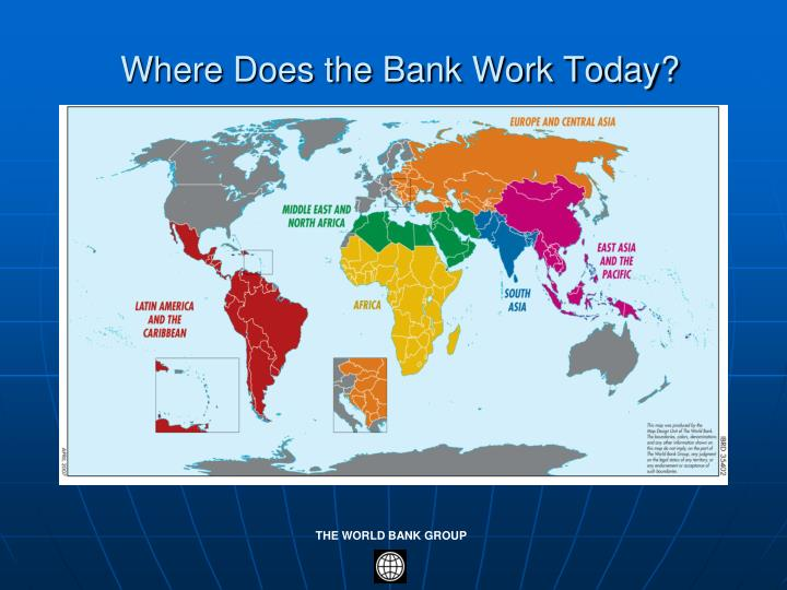 Where Does the Bank Work Today?