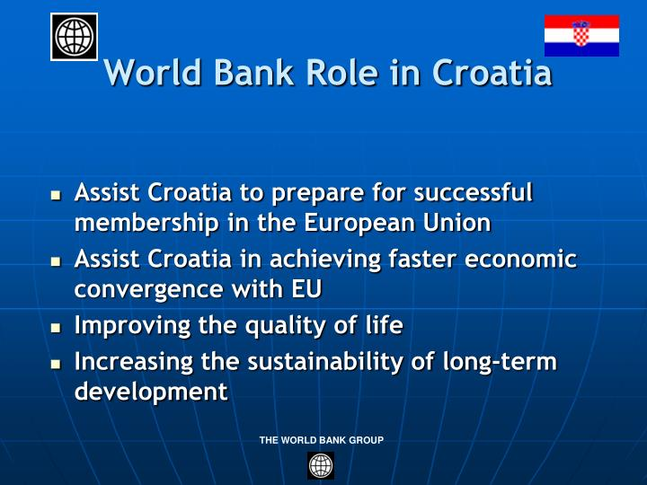World Bank Role in Croatia