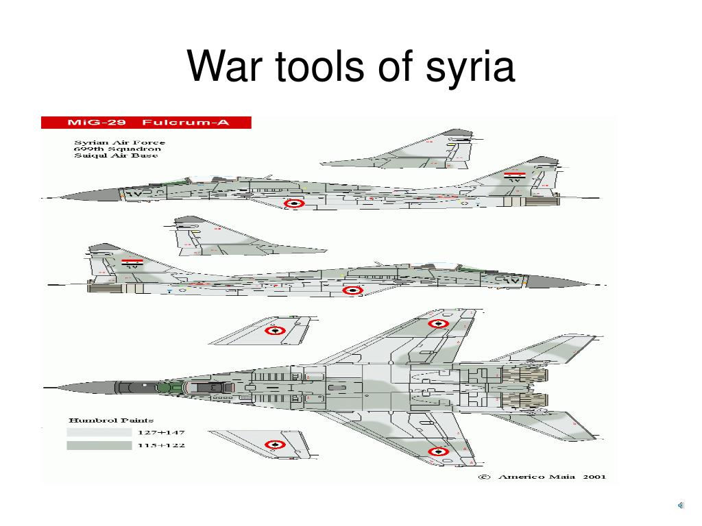 War tools of syria