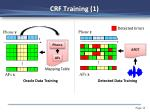 crf training 1