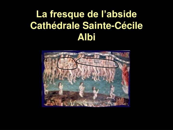 La fresque de l'abside