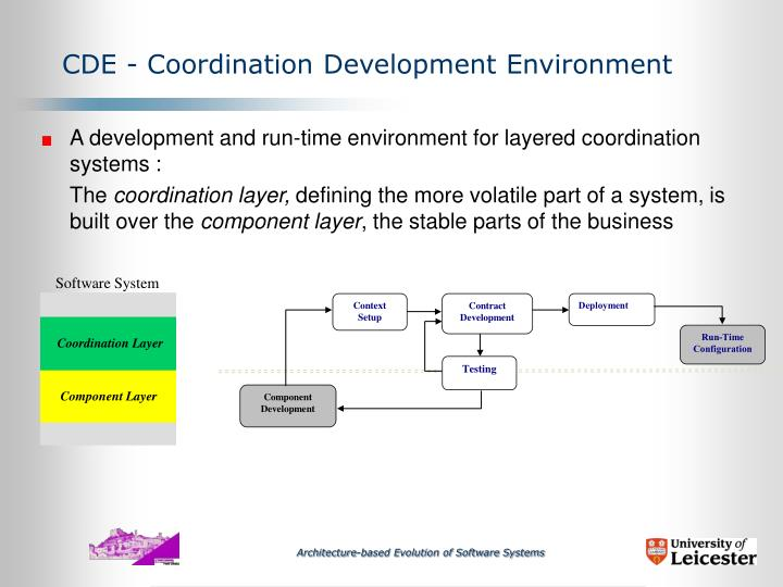 A development and run-time environment for layered coordination systems :