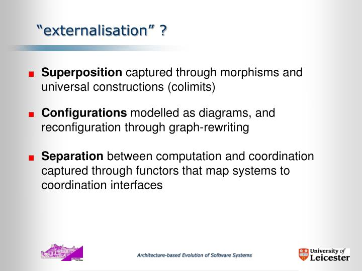 """externalisation"" ?"