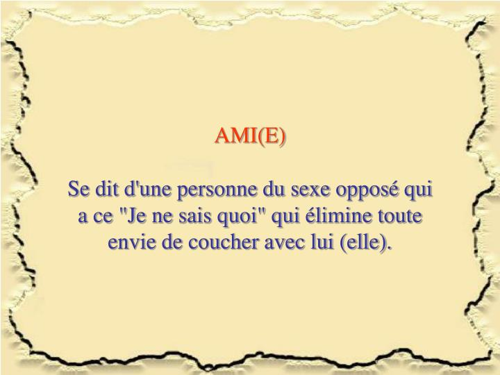 AMI(E)