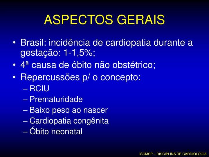 ASPECTOS GERAIS