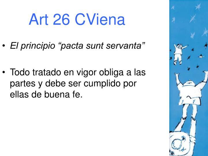 Art 26 CViena