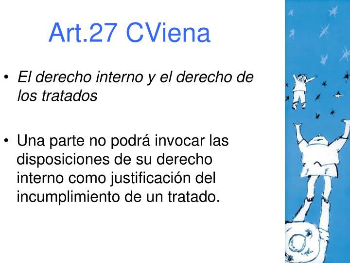 Art.27 CViena