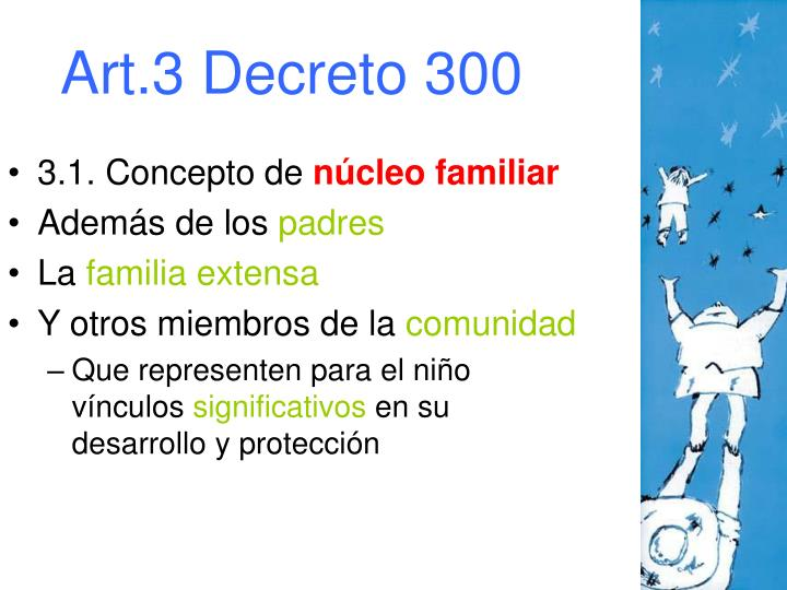 Art.3 Decreto 300