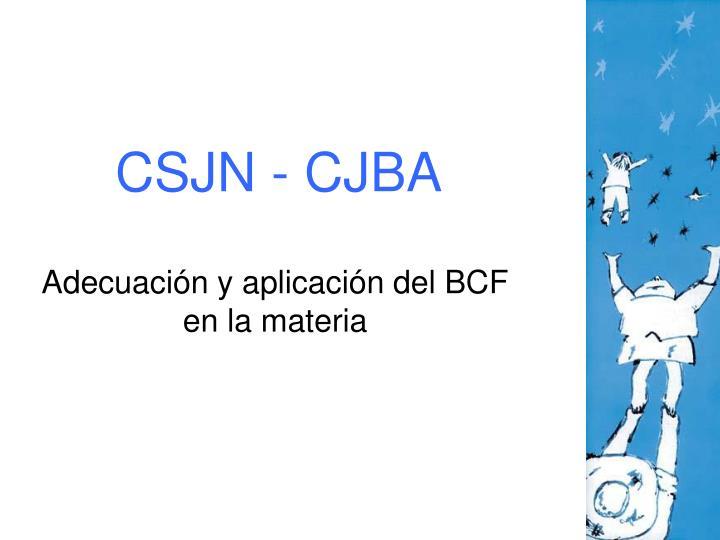 CSJN - CJBA