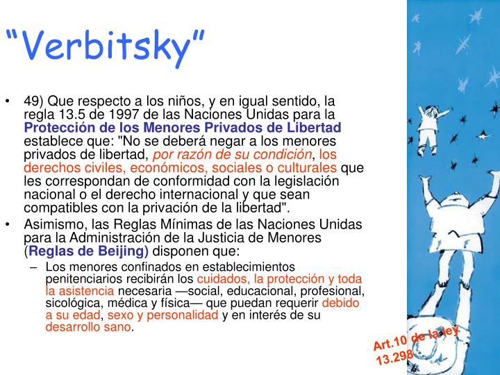 """Verbitsky"""