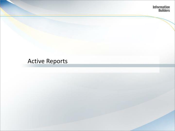 Active Reports
