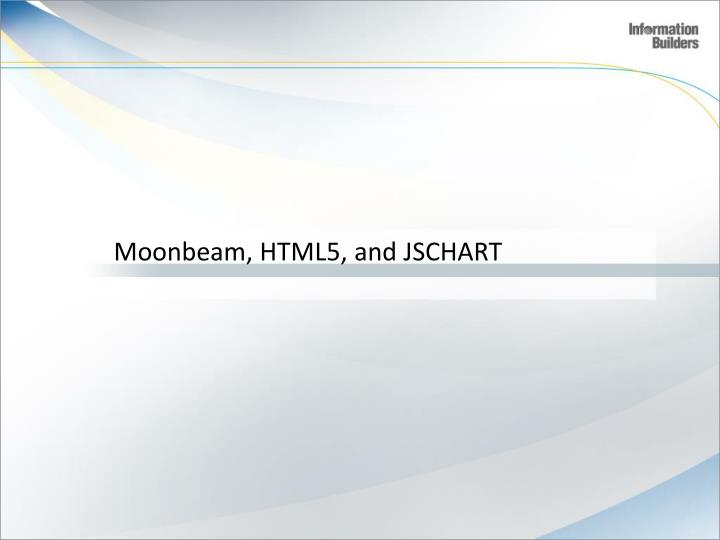 Moonbeam, HTML5, and JSCHART