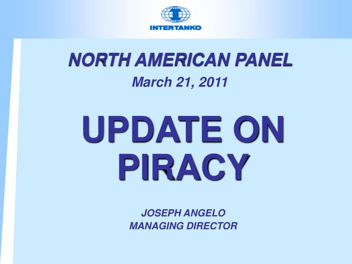 North american panel march 21 2011