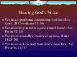 hearing god s voice51
