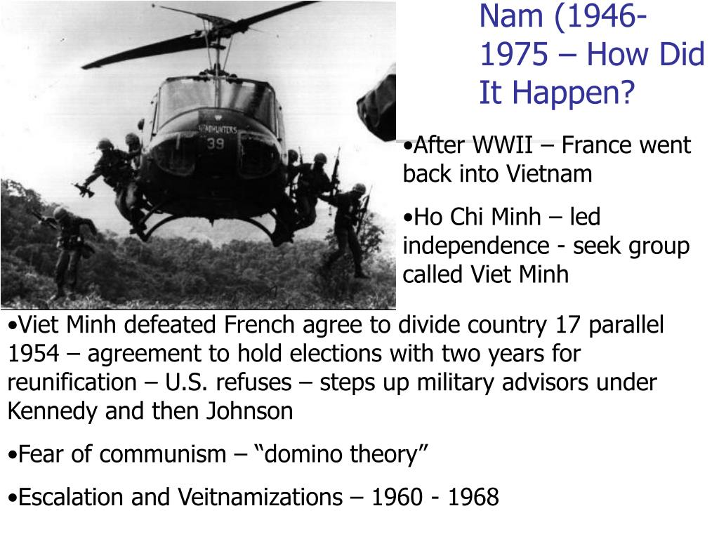 Nam (1946-1975 – How Did It Happen?