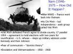 nam 1946 1975 how did it happen