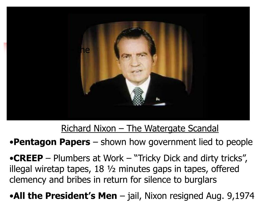 Richard Nixon – the