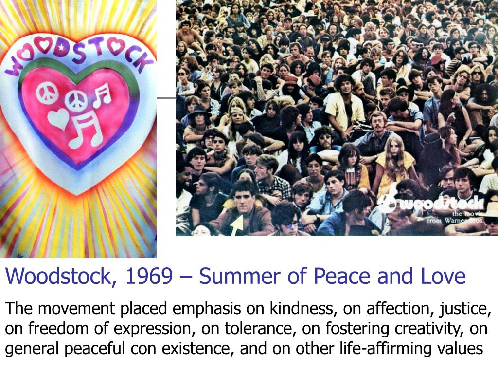 Woodstock, 1969 – Summer of Peace and Love