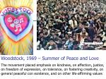 woodstock 1969 summer of peace and love